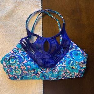 NWOT Target halter braided bikini top
